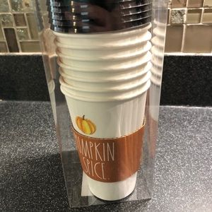 Rae Dunn travel cups with sleeves